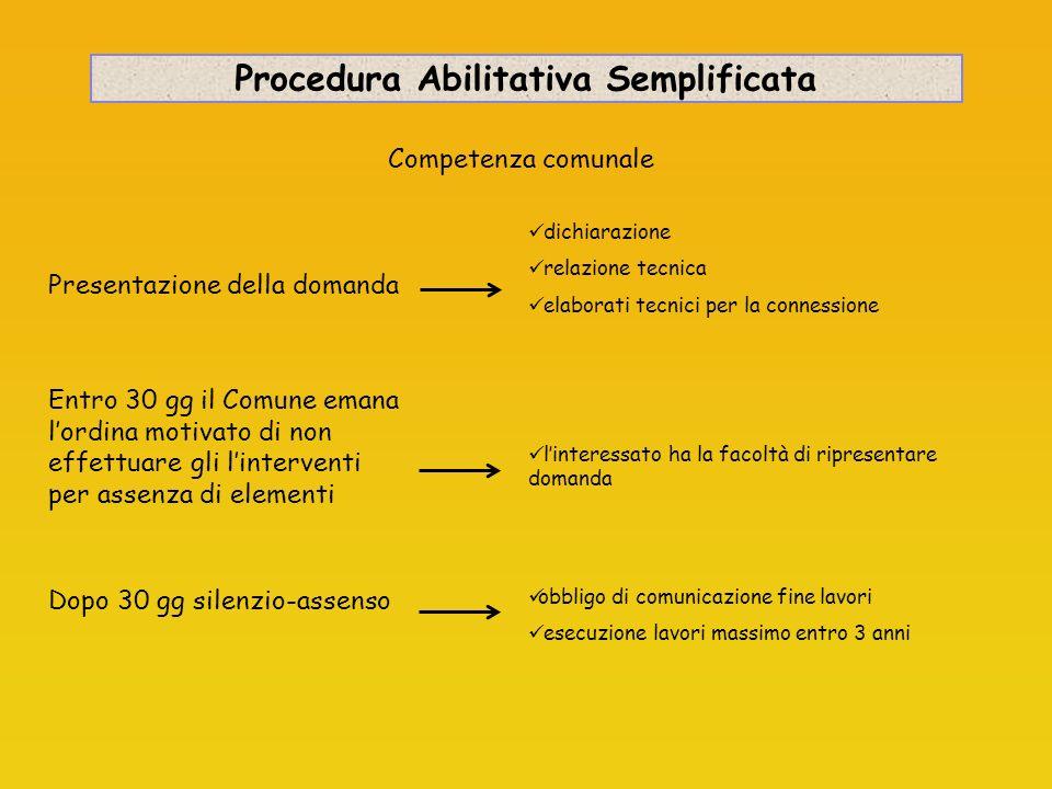Procedura Abilitativa Semplificata
