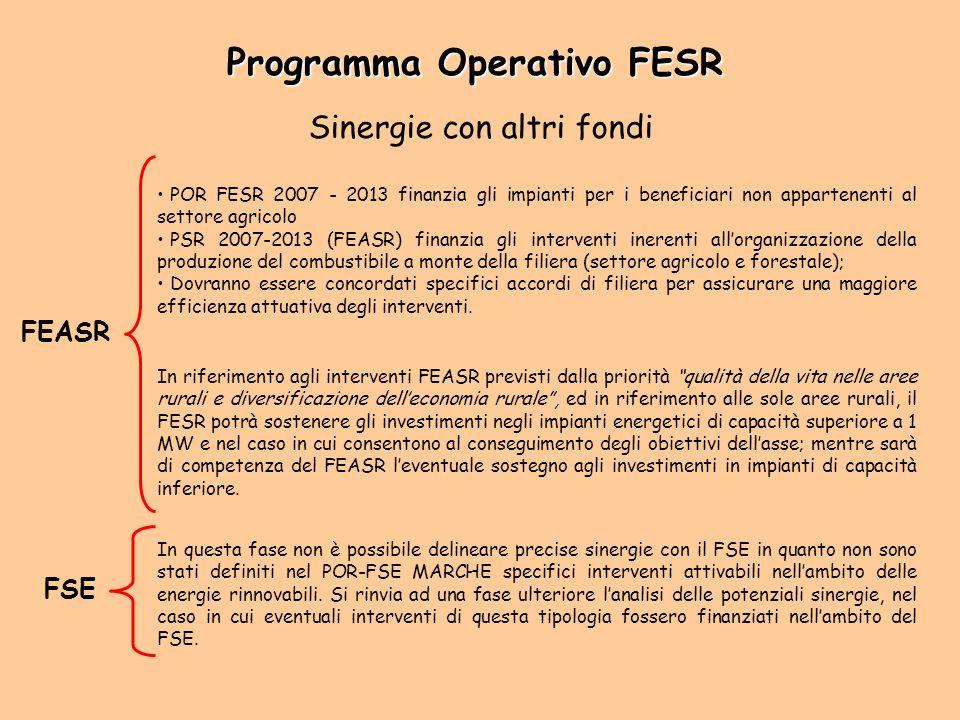 Programma Operativo FESR