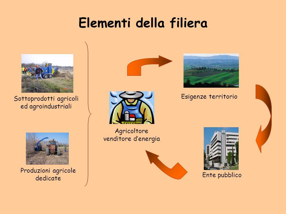 Elementi della filiera