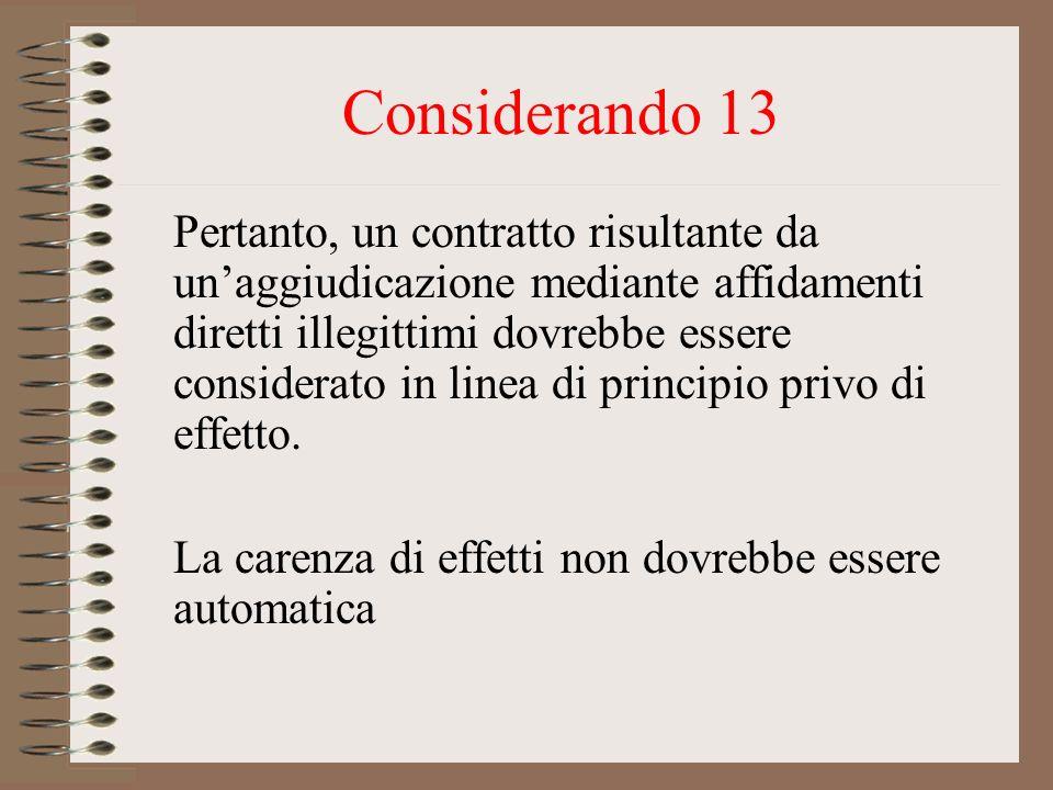 Considerando 13