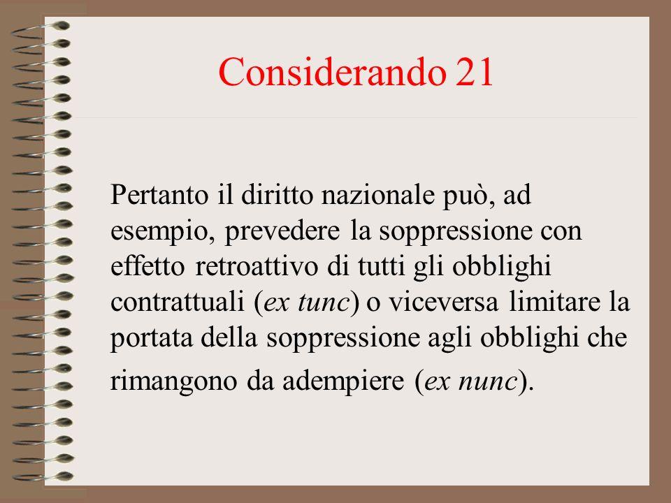 Considerando 21