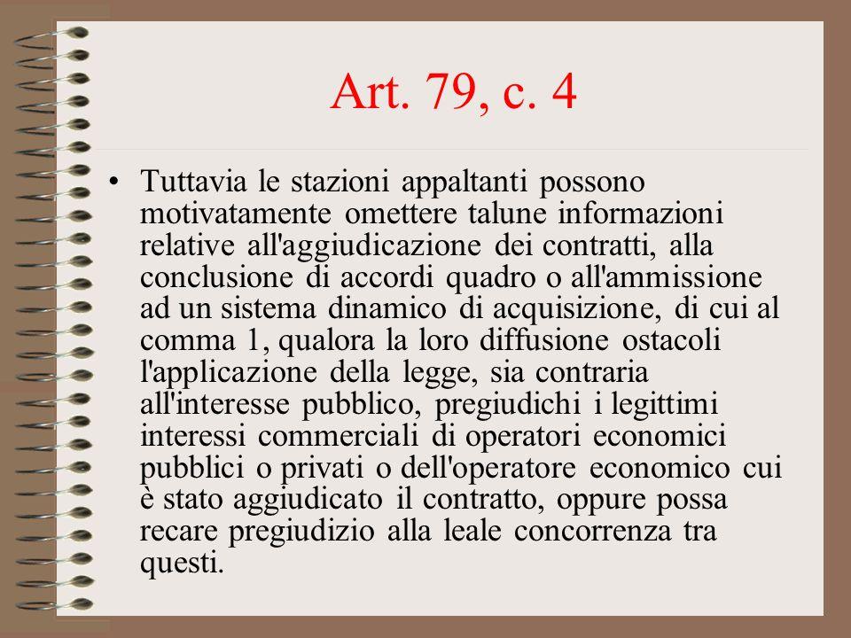 Art. 79, c. 4