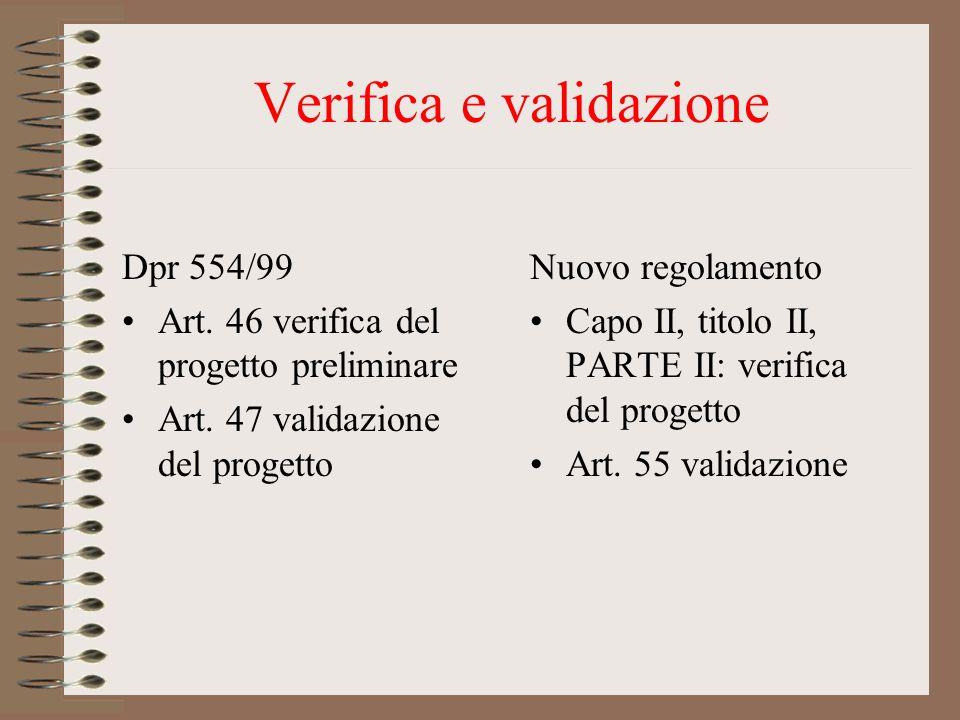 Verifica e validazione