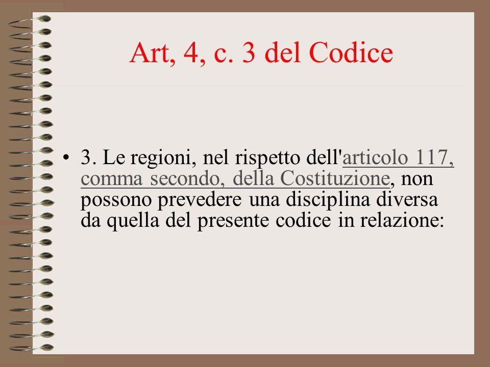 Art, 4, c. 3 del Codice