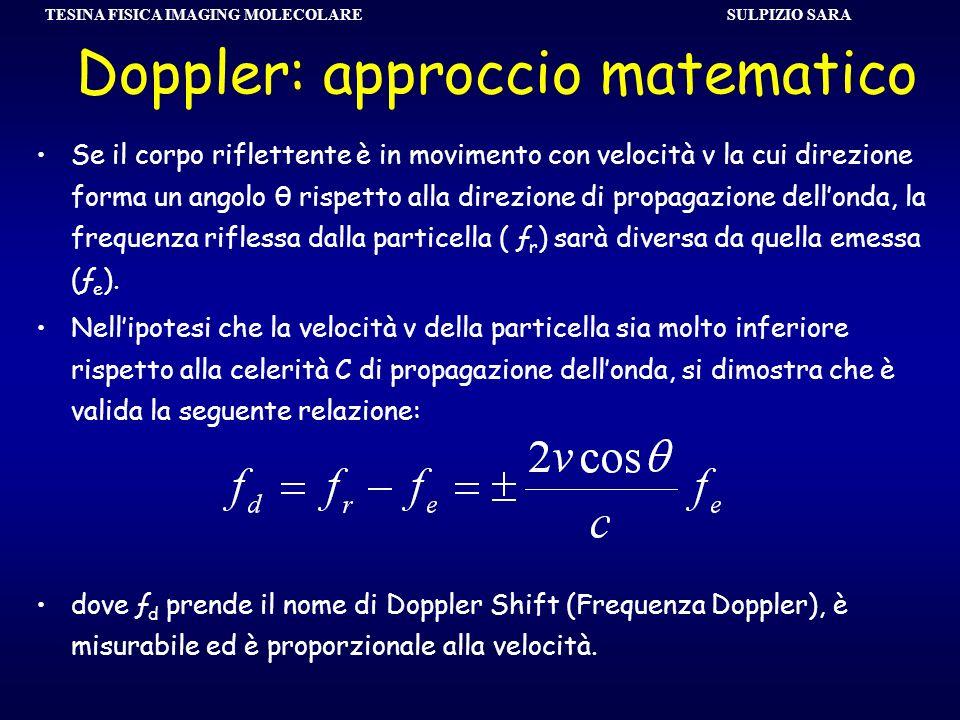 Doppler: approccio matematico