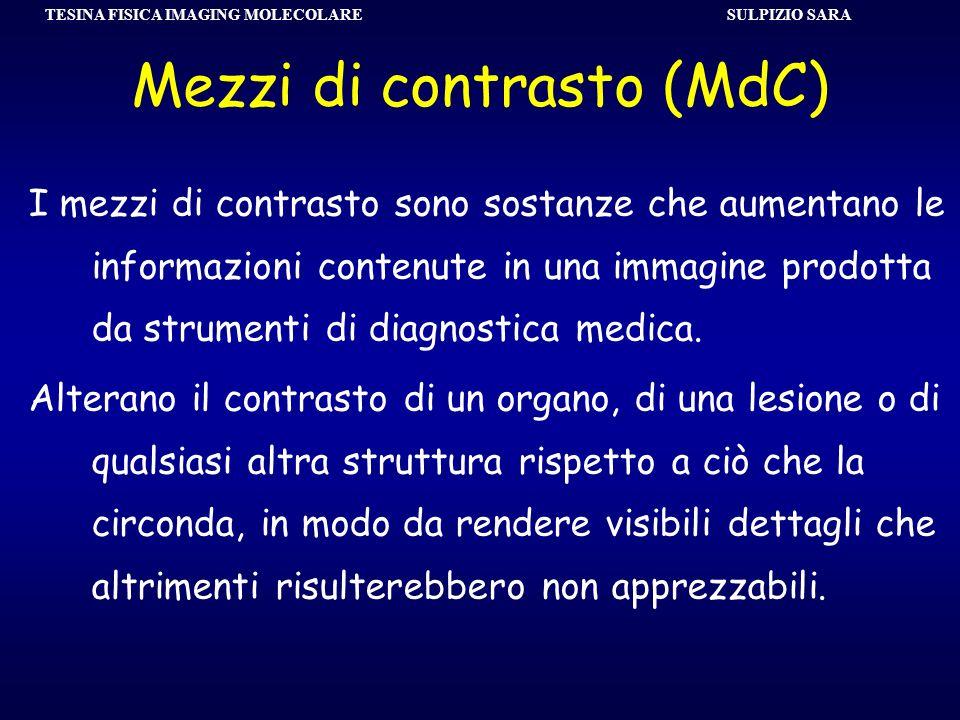Mezzi di contrasto (MdC)