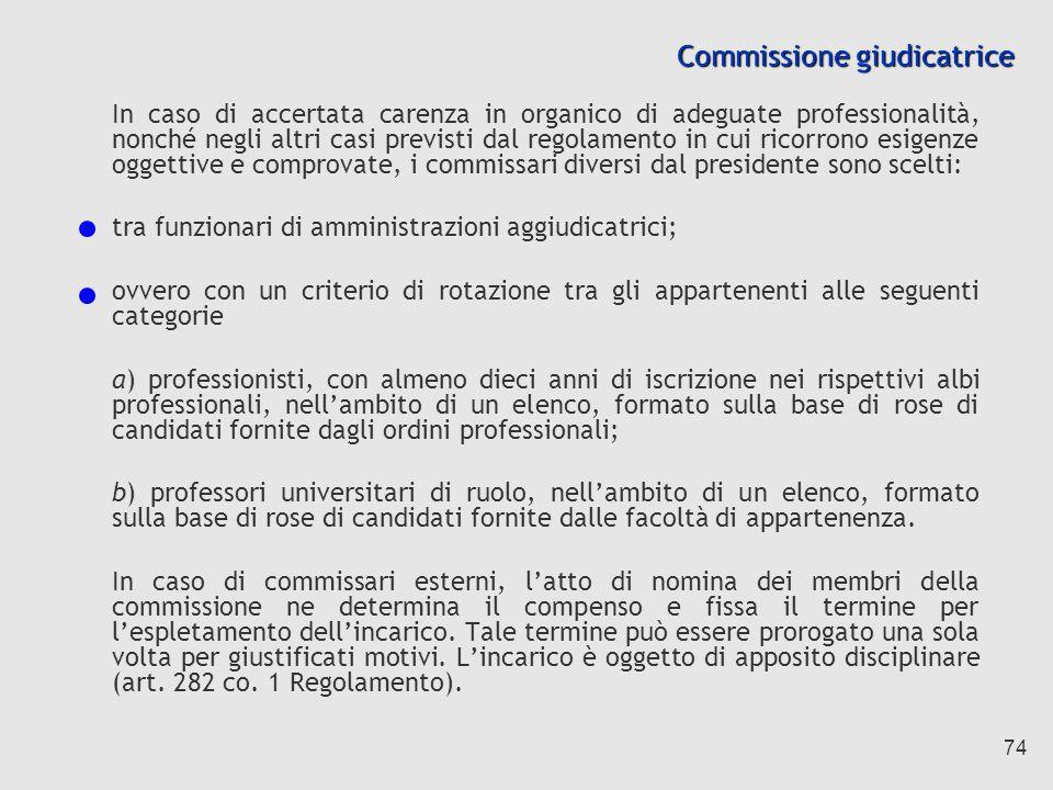 Commissione giudicatrice