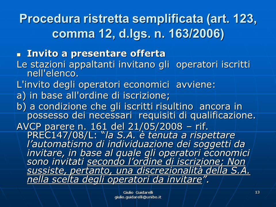 Giulio Guidarelli giulio.guidarelli@unibo.it