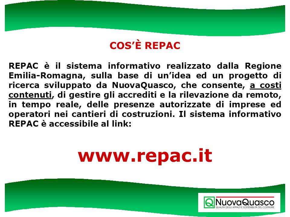 www.repac.it COS'È REPAC