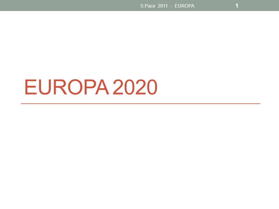 S.Pace 2011 - EUROPA EUROPA 2020