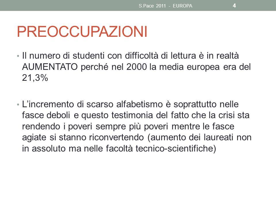 S.Pace 2011 - EUROPA PREOCCUPAZIONI.