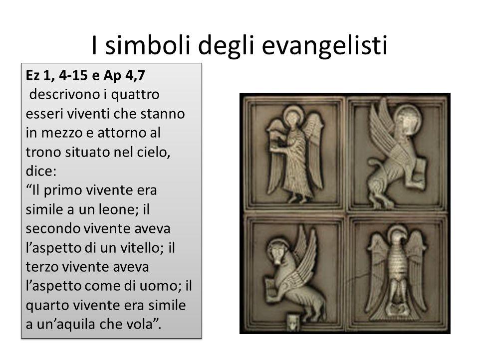 I simboli degli evangelisti
