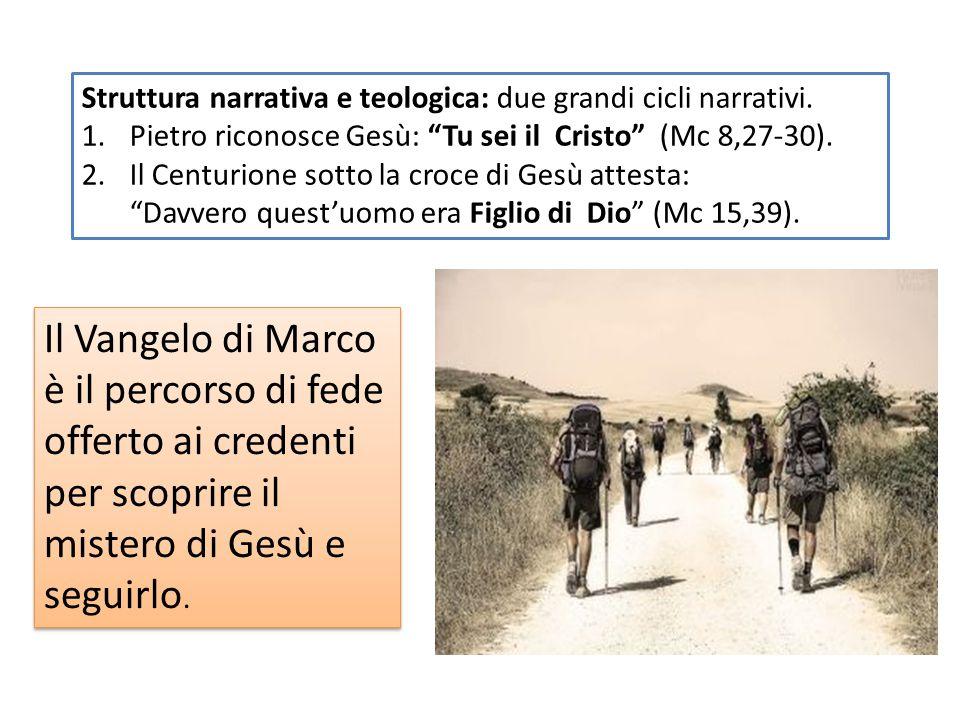Struttura narrativa e teologica: due grandi cicli narrativi.