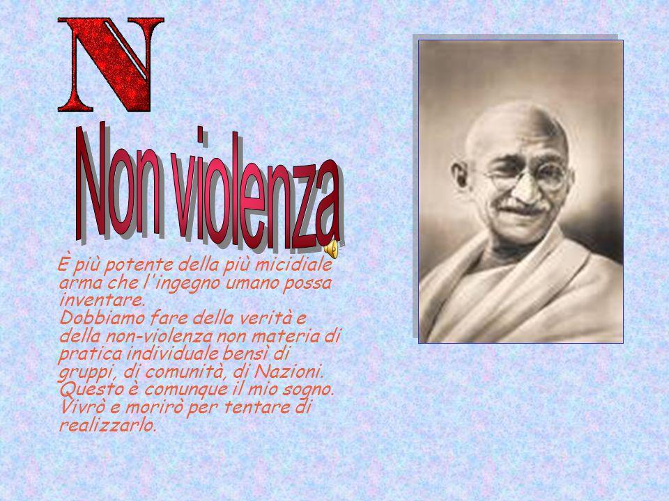 Non violenza