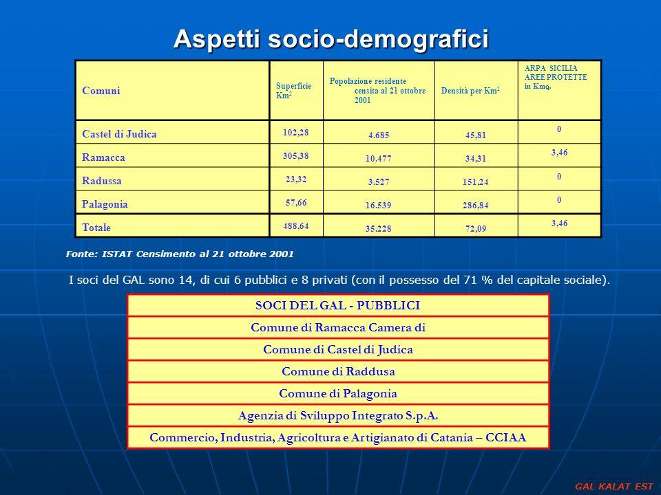 Aspetti socio-demografici