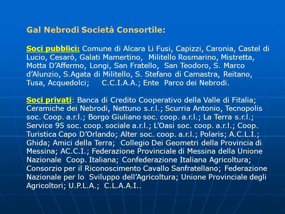 Gal Nebrodi Società Consortile: