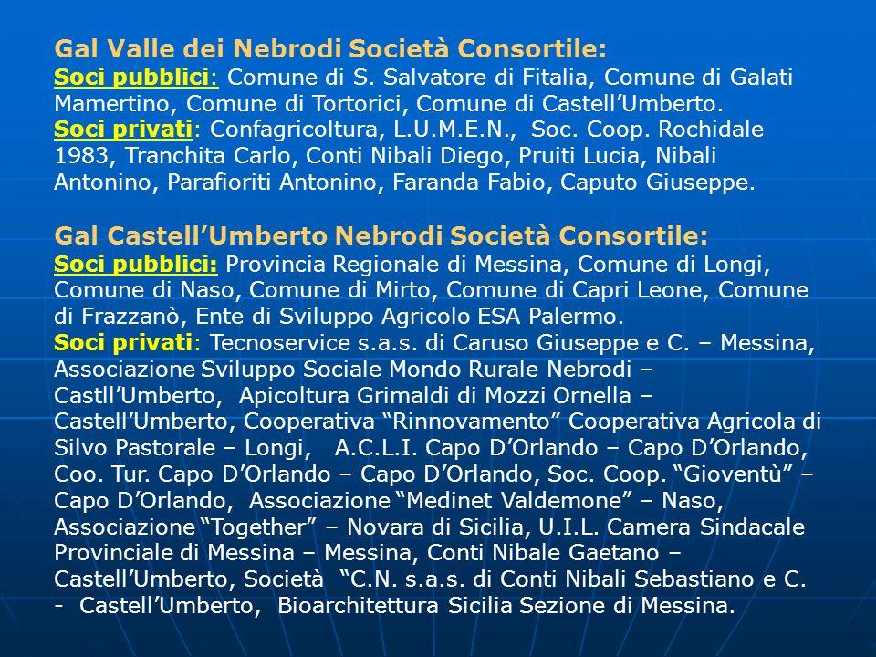 Gal Valle dei Nebrodi Società Consortile: