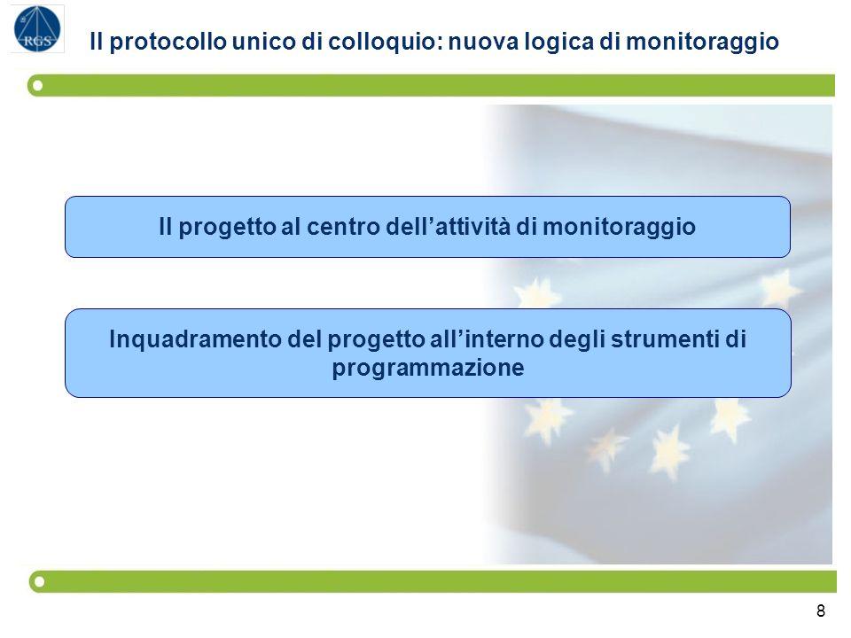 Il protocollo unico di colloquio: nuova logica di monitoraggio