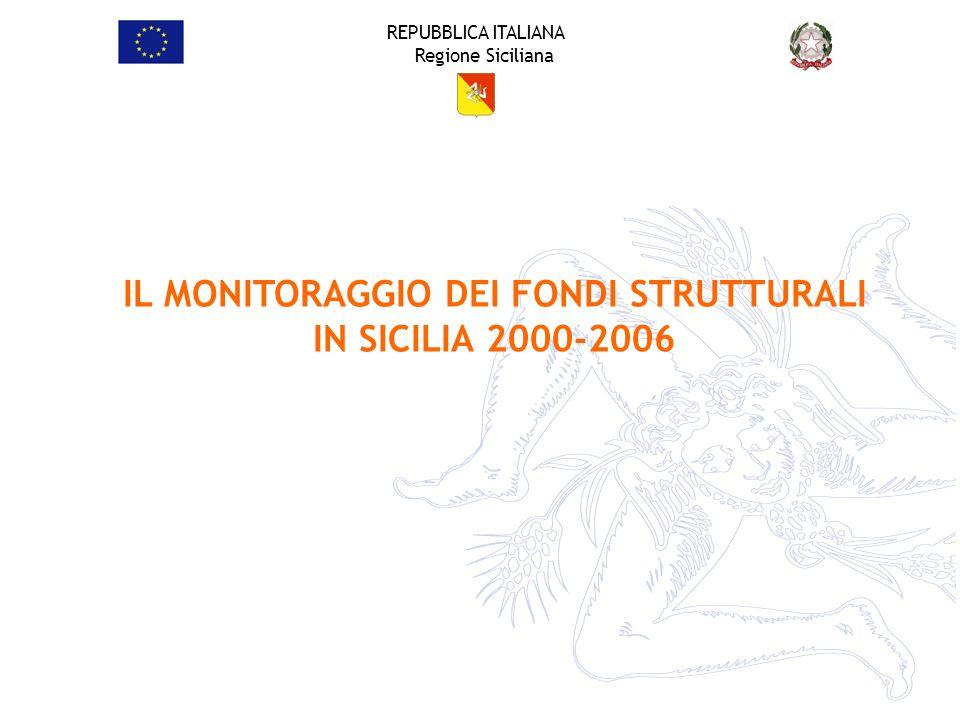 IL MONITORAGGIO DEI FONDI STRUTTURALI IN SICILIA 2000-2006