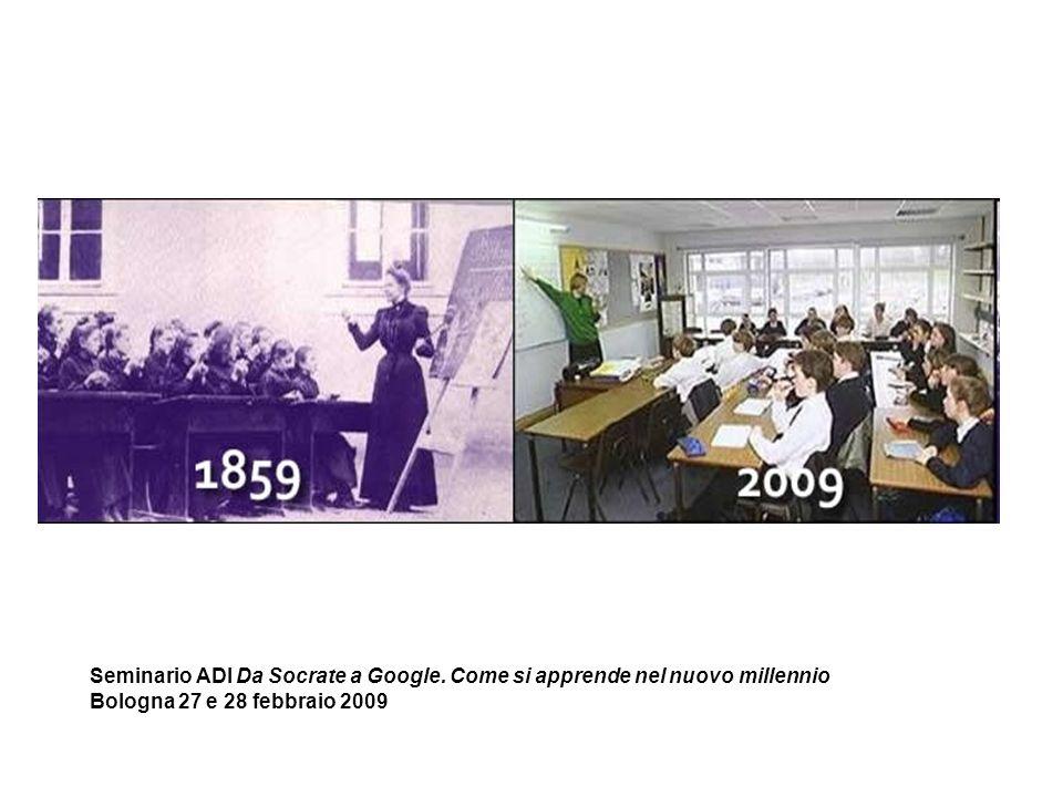 Seminario ADI Da Socrate a Google. Come si apprende nel nuovo millennio