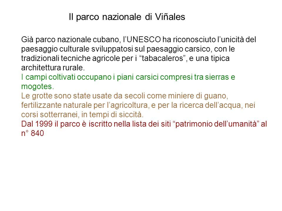 Il parco nazionale di Viñales