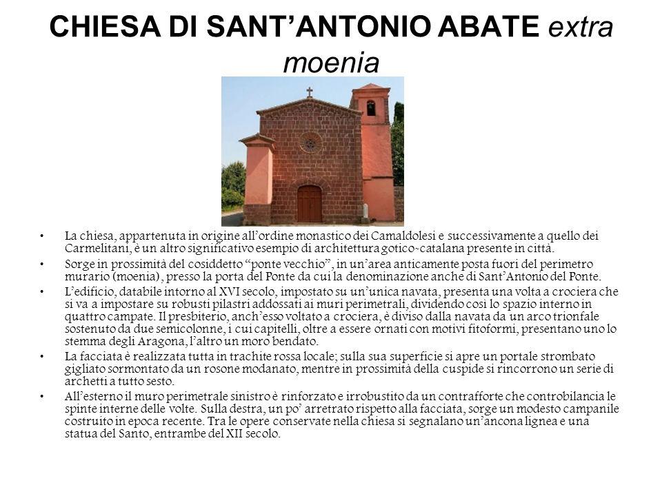 CHIESA DI SANT'ANTONIO ABATE extra moenia
