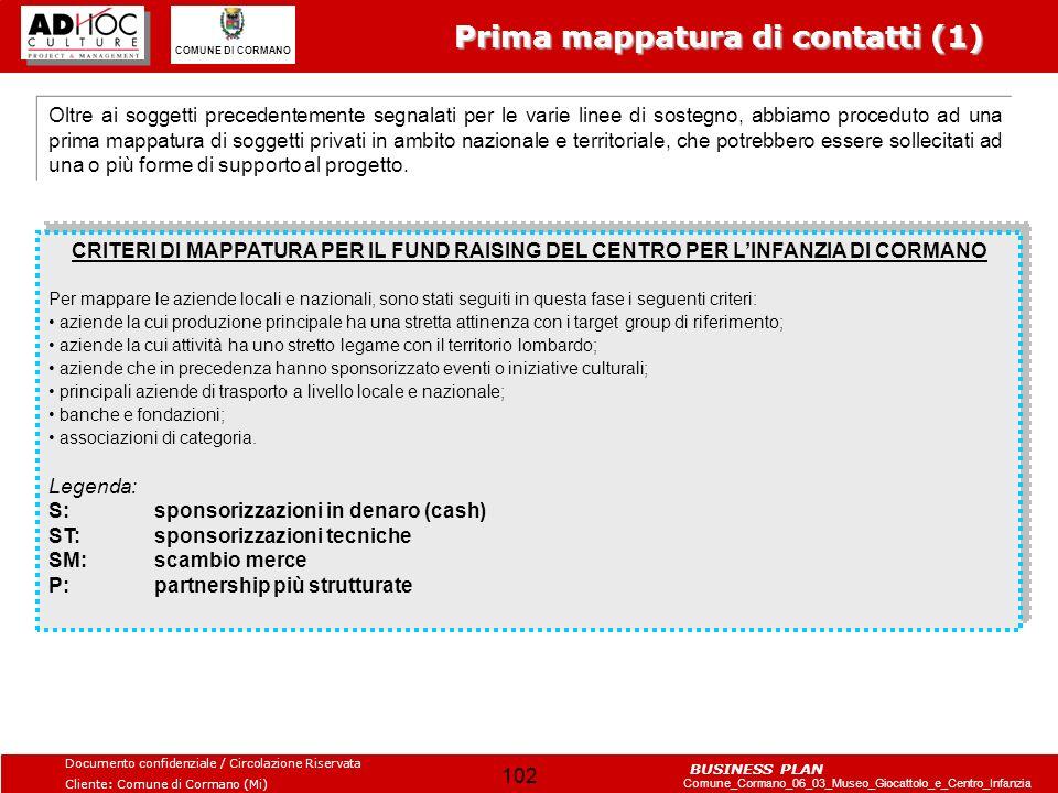 Prima mappatura di contatti (1)