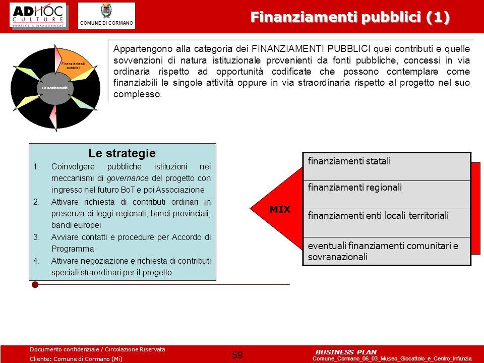 Finanziamenti pubblici (1)