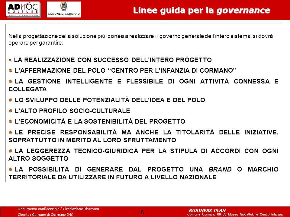 Linee guida per la governance