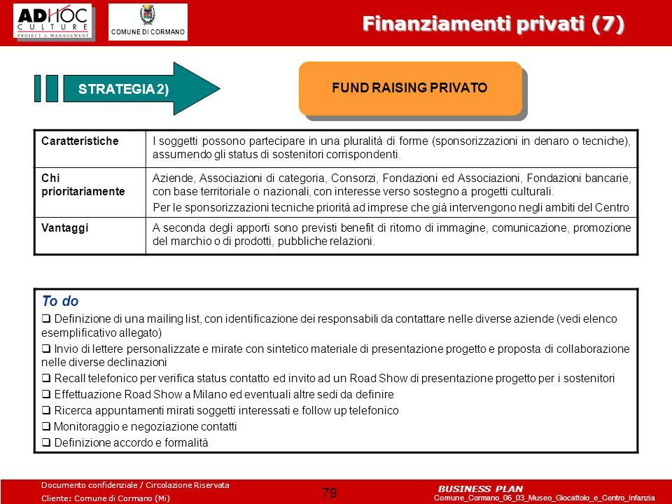 Finanziamenti privati (7)