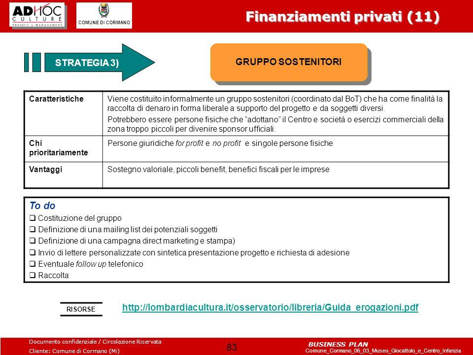 Finanziamenti privati (11)