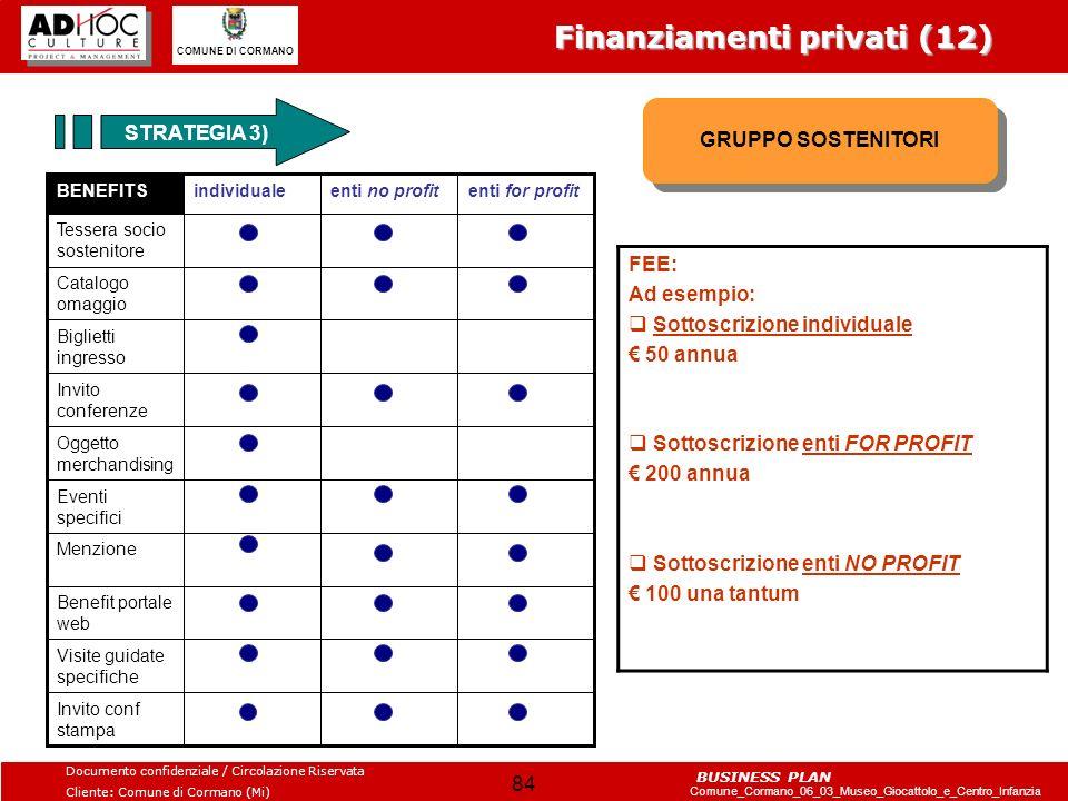 Finanziamenti privati (12)