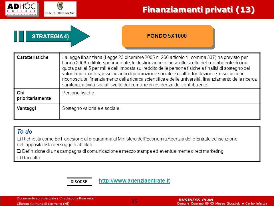 Finanziamenti privati (13)