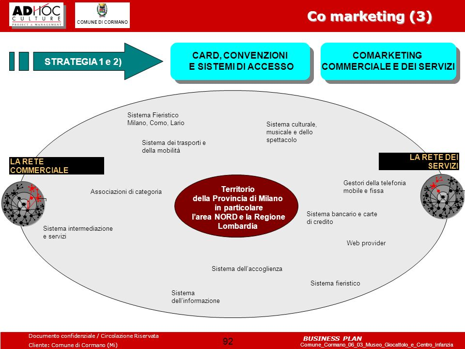 Co marketing (3) STRATEGIA 1 e 2)