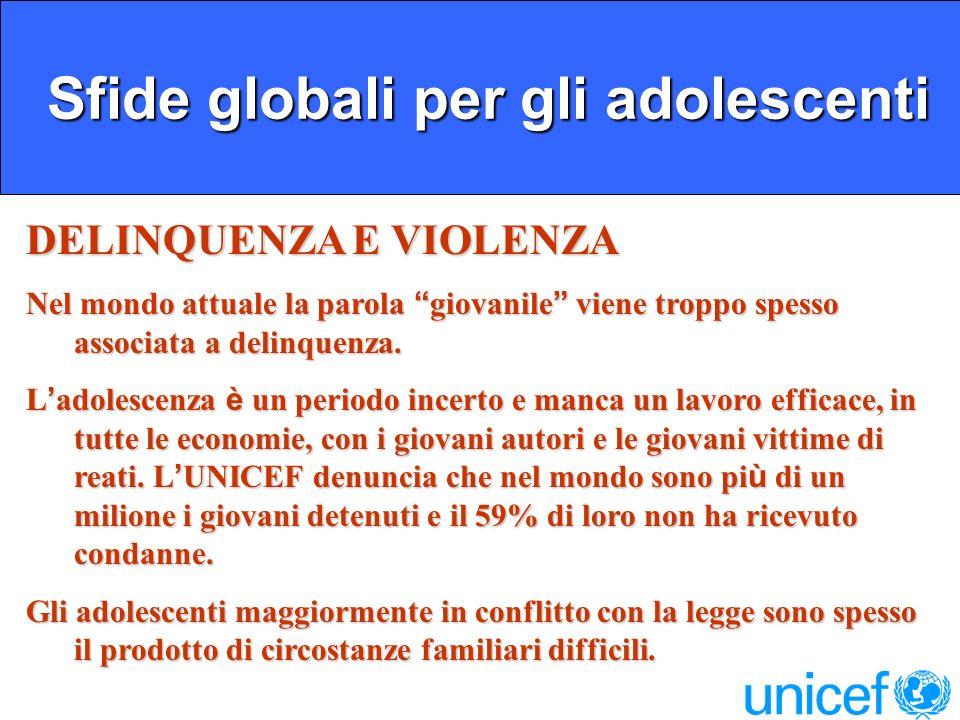 Sfide globali per gli adolescenti