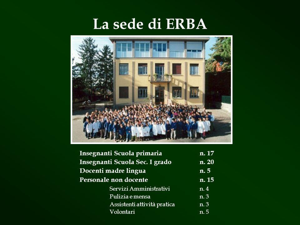 La sede di ERBA Insegnanti Scuola primaria n. 17