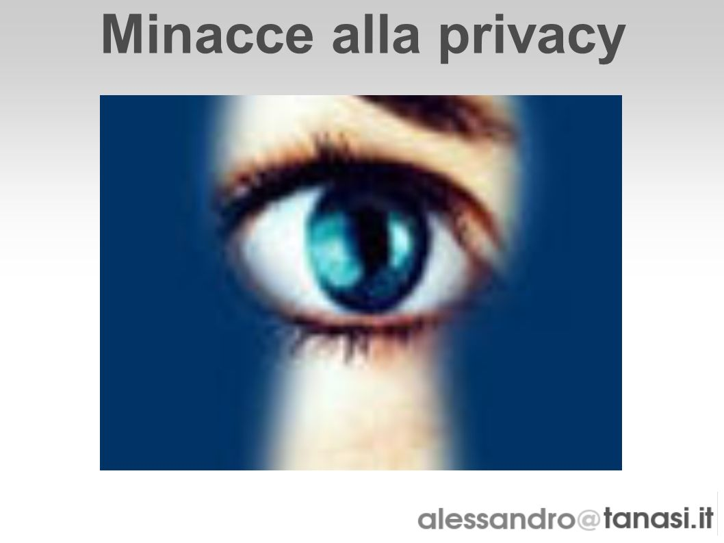 Minacce alla privacy