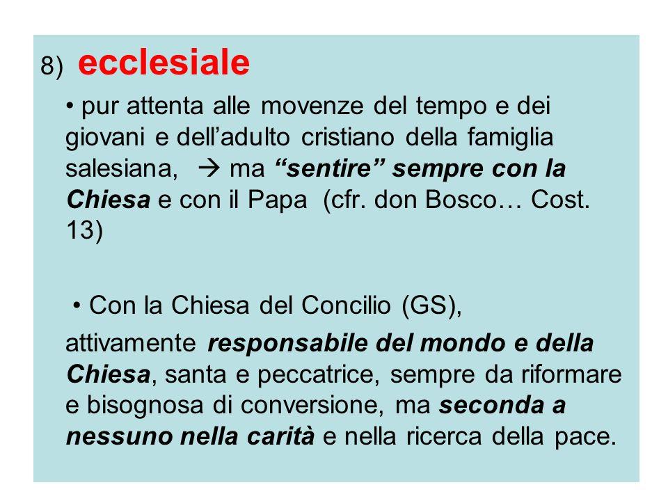 8) ecclesiale