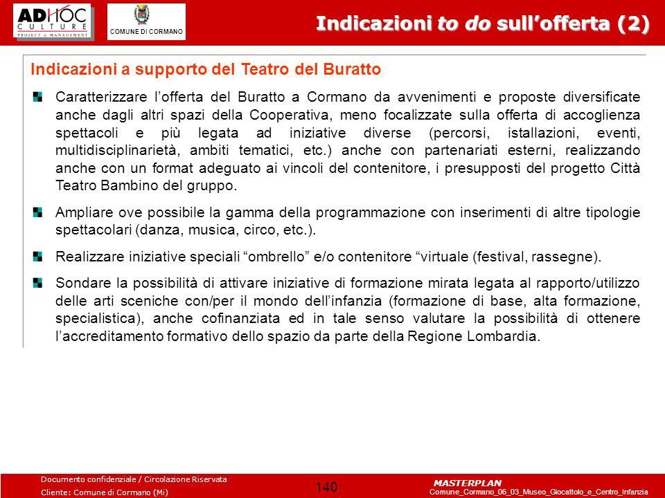 Indicazioni to do sull'offerta (2)