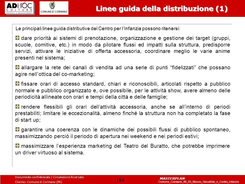 Linee guida della distribuzione (1)