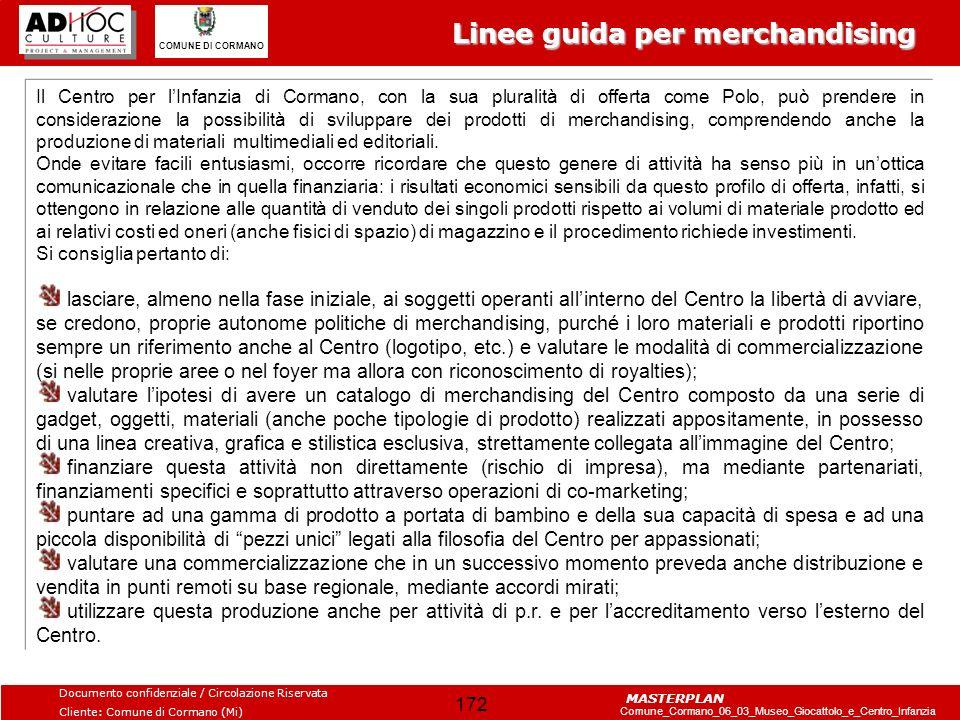 Linee guida per merchandising