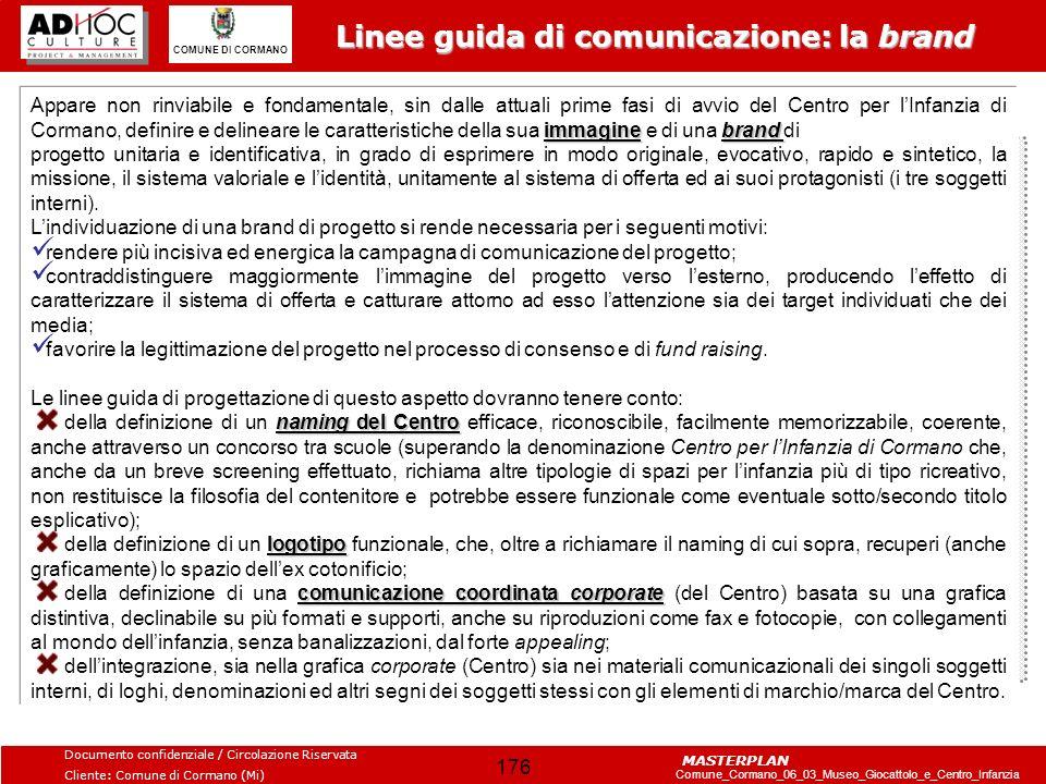 Linee guida di comunicazione: la brand