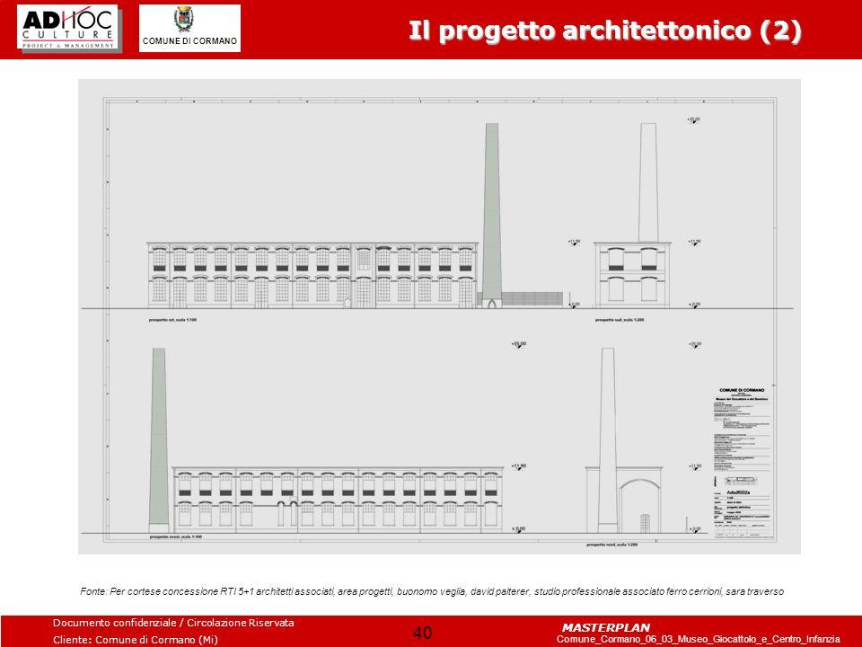 Il progetto architettonico (2)