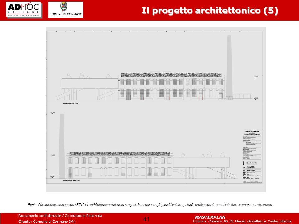 Il progetto architettonico (5)