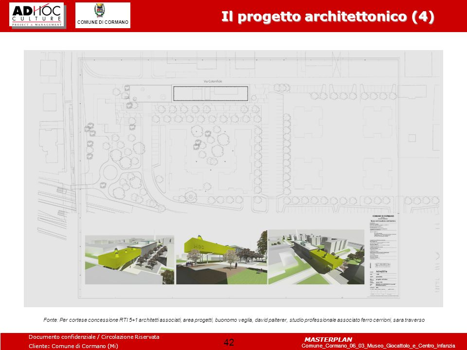 Il progetto architettonico (4)