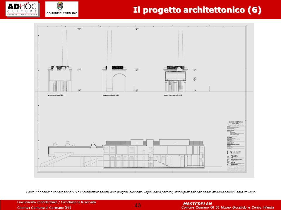 Il progetto architettonico (6)