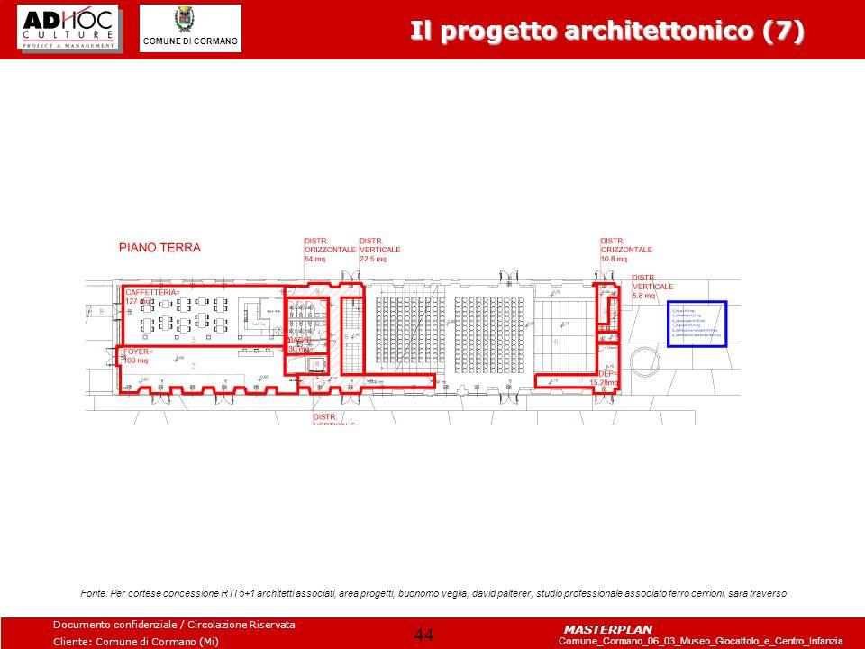 Il progetto architettonico (7)