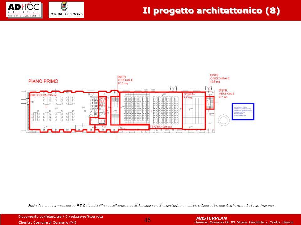 Il progetto architettonico (8)