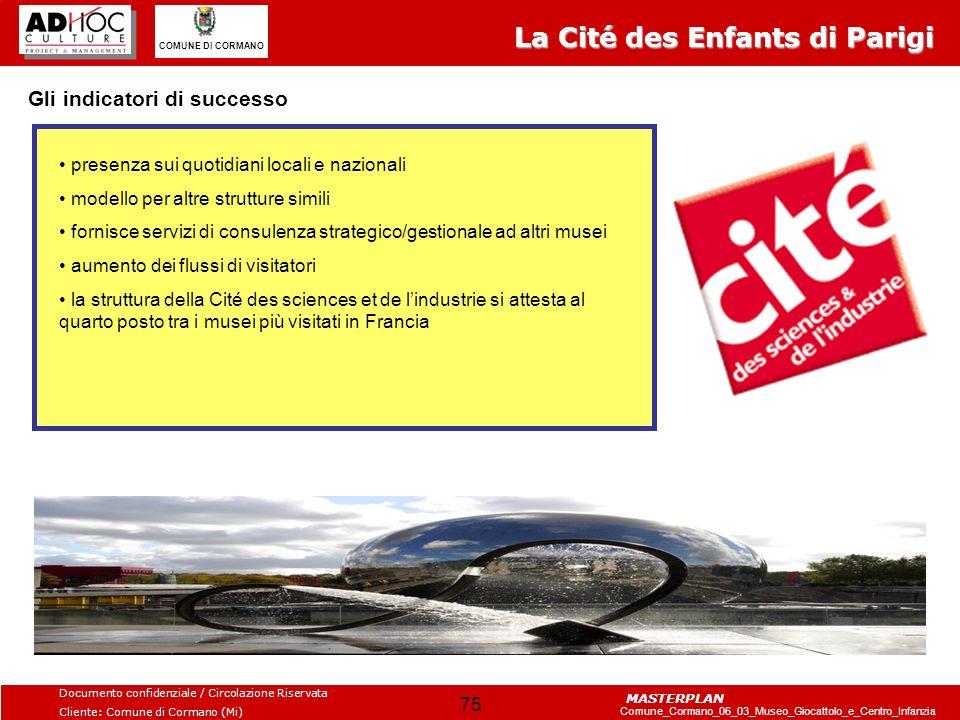 La Cité des Enfants di Parigi