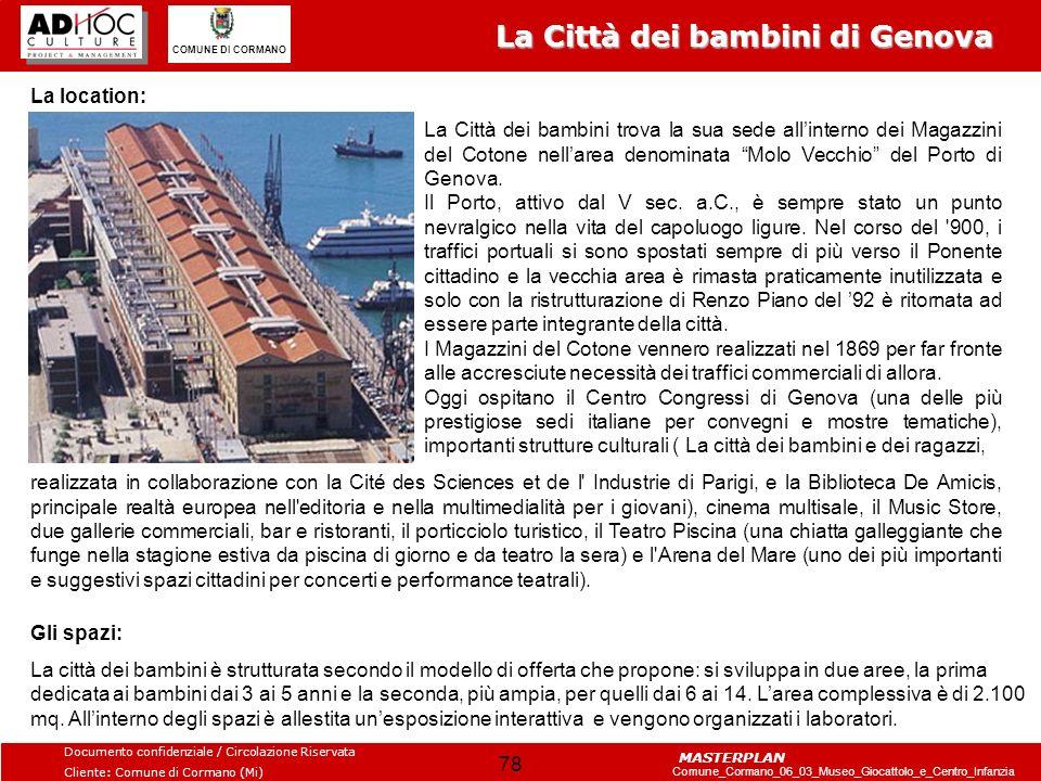 La Città dei bambini di Genova